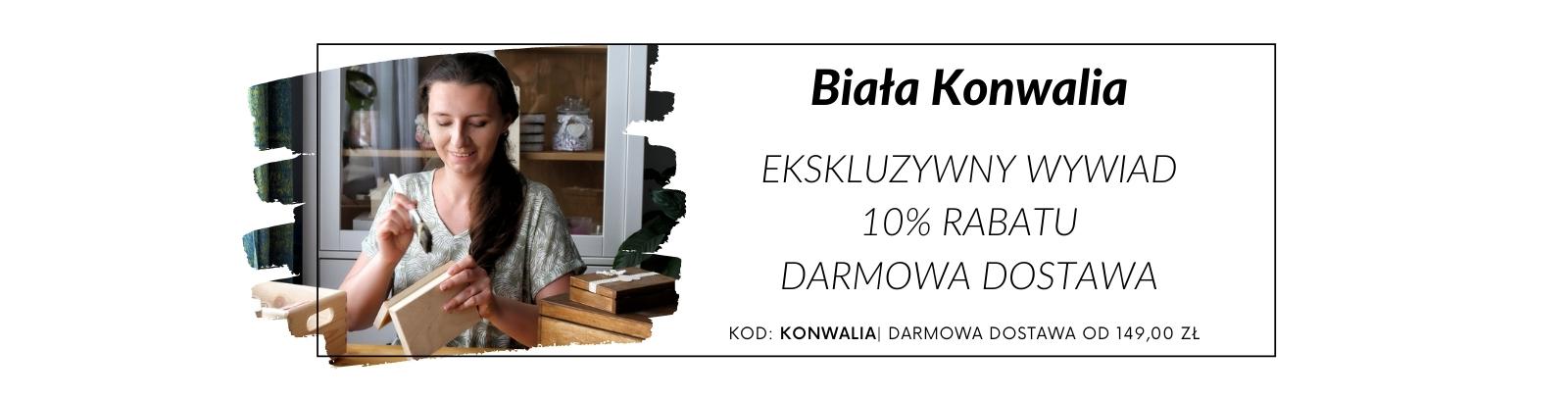 Biała Konwalia - wywiad, promocja i darmowa dostawa!