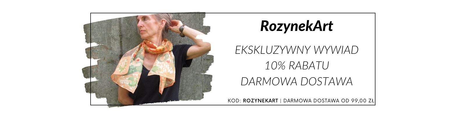 RozynekArt - wywiad, promocja i darmowa dostawa!